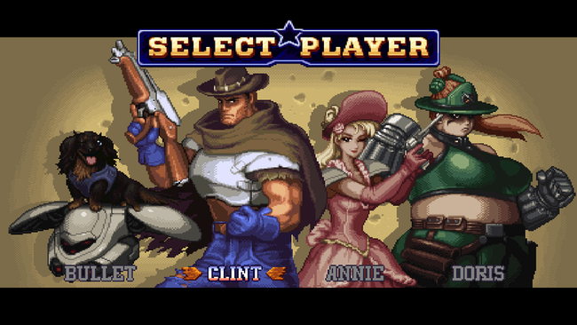 Wild Guns Reloaded Personajes