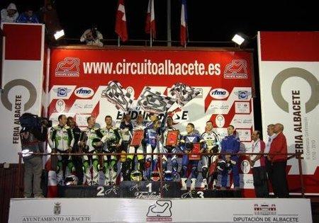 Podio EWC Albacete 2010