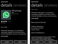 WhatsApp disponible para Windows Phone 8