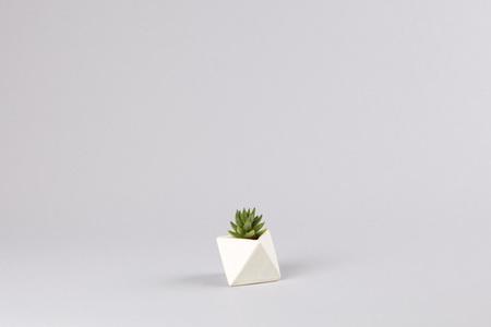 Eley, un adorable, geométrico y minúsculo macetero