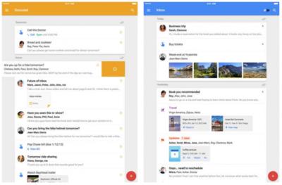 Inbox, la nueva visión del correo de Google, llega a los iPad