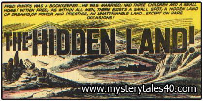 Sobre el comic de Mystery Tale 40 que salía en Perdidos