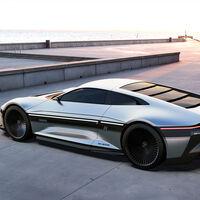 El DeLorean 2021 reinterpreta al mito como un coche superdeportivo eléctrico, autónomo y con diseño español