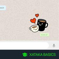 Cómo usar tus stickers personalizados de WhatsApp en WhatsApp web