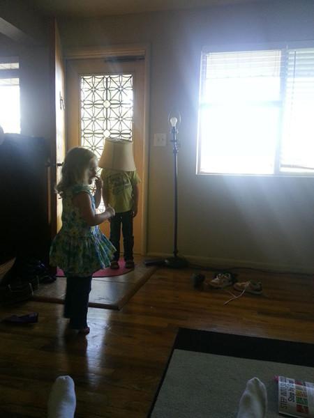 El niño lámpara