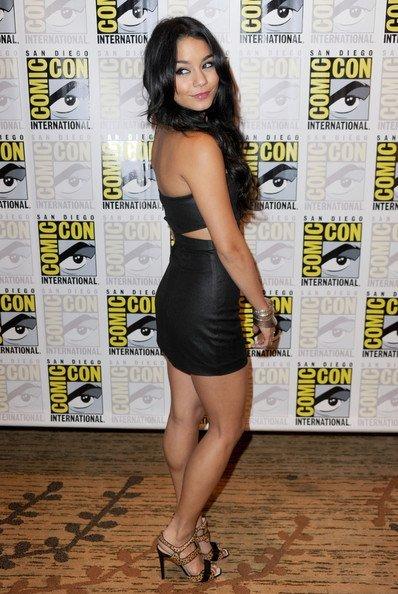 Los mejores looks de famosas en la Comic Con. Vanessa Hudgens I
