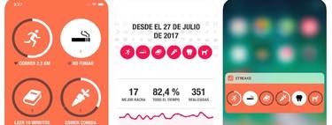 Streaks: una app para crear buenos hábitos en 2019