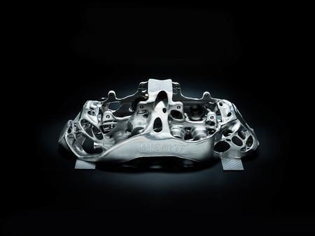 Pinza de freno impresa en 3D para Bugatti Chiron