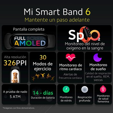Xiaomi Mi Band 6 con descuento en Amazon México