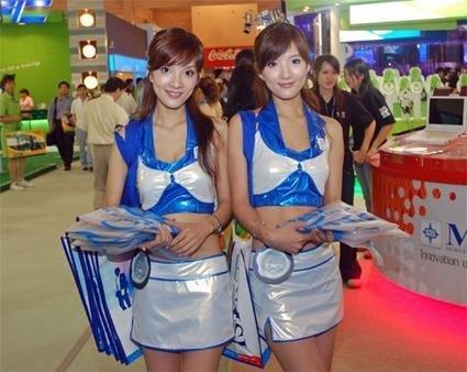 Computex 2006: las chicas