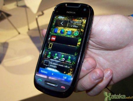 Nokia C7 negro con Symbian^3