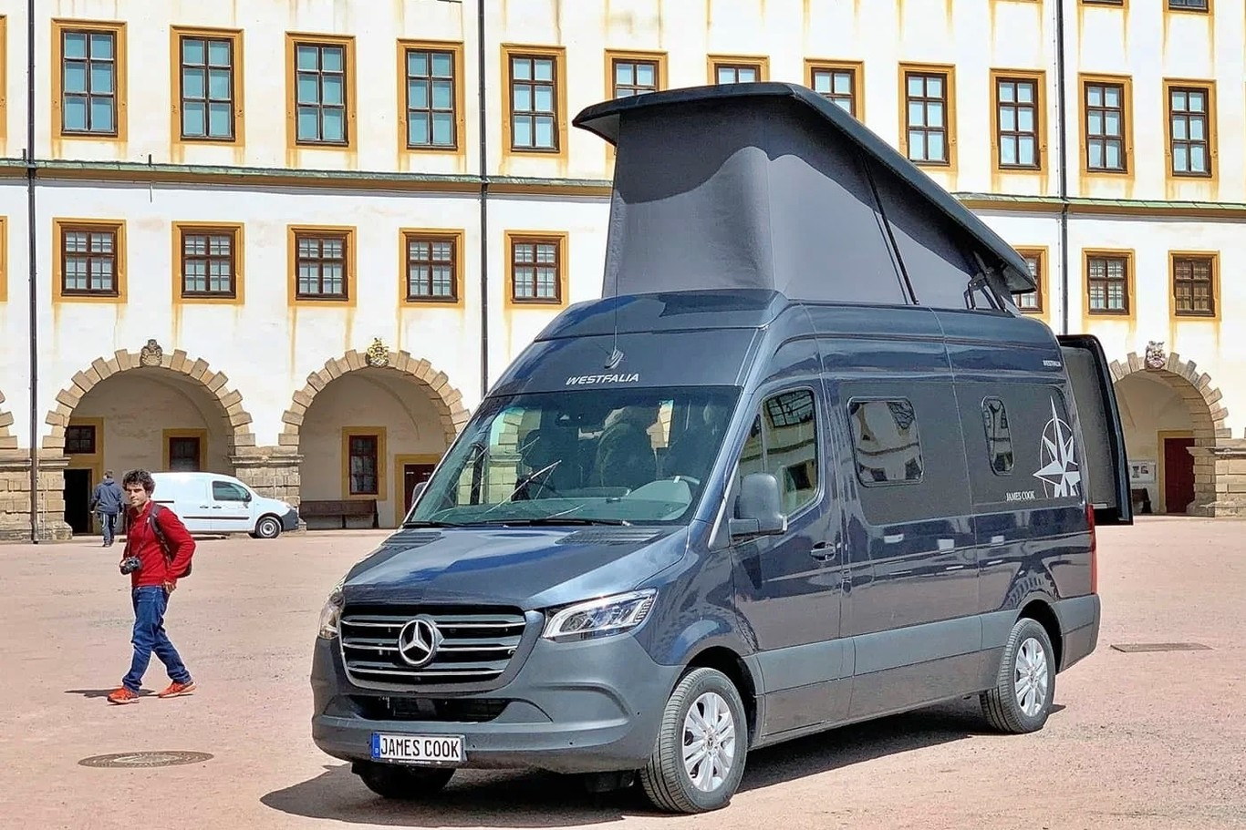 La Mercedes-Benz Sprinter James Cook es el antídoto camper de Westfalia contra la Grand California