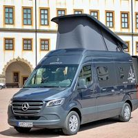 La Mercedes-Benz Sprinter James Cook es el antídoto camper de Westfalia contra la Grand California