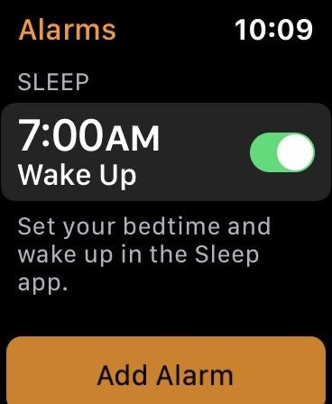 Sleep Watchos