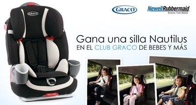 Nuevo Club Graco en Bebés y más: gana una silla Nautilus Elite para el coche