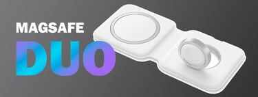 Precio mínimo histórico del cargador MagSafe Duo de Apple: recarga iPhone, Apple Watch o AirPods por 117,24 euros en Amazon
