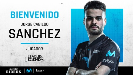 League of Legends: Movistar Riders ficha a Sánchez para conquistar la Superliga Orange