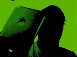 Otro nuevo efecto para iChat en Leopard: Conviértete en la sombra de los anuncios iPod