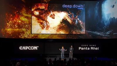 Capcom nos presenta su potentísimo motor Panta Rhei bajo el juego 'Deep Down'