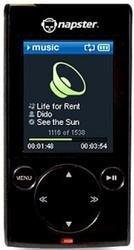 Reproductor Napster de 1 GB y 256 MB