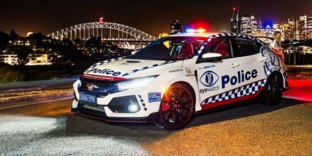 Honda Civic Type R Policia 5