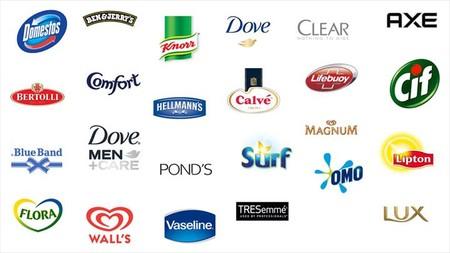 Unilever Global Brand Logos