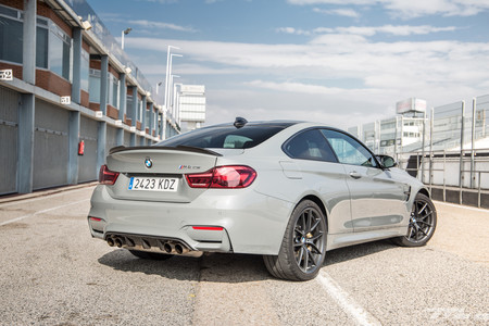 BMW M4 CS trasera
