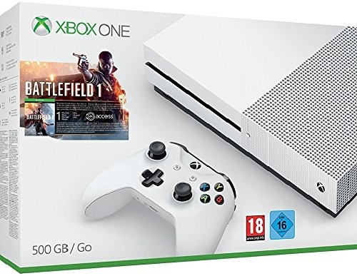 Xbox One S 500 GB + Battlefield 1