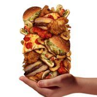 La dificultad de evitar la comida basura