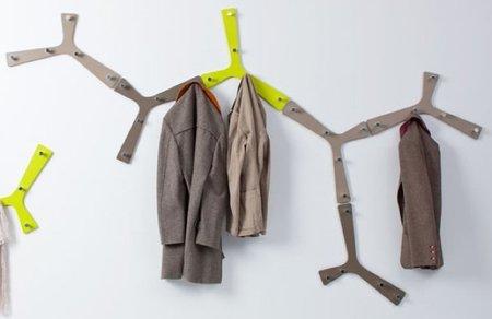 Colección de percheros y colgadores inspirados en árboles