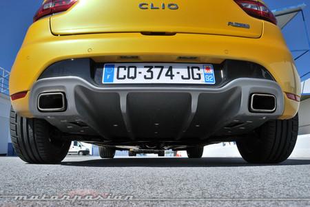 Renault Clio RS 200 EDC difusor trasero