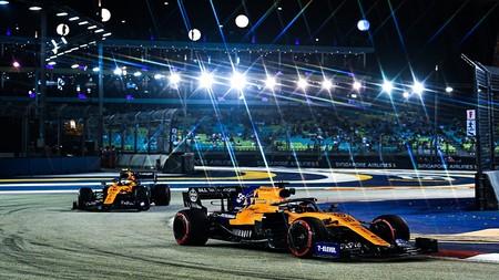 Sainz Singapur F1 2019