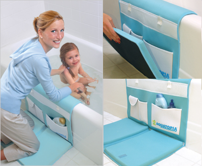 Aquatopia, cuida tus rodillas a la hora del baño del bebé