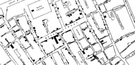 mapa colera john snow