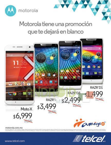 Motorola Promociones Telcel Amigo Kit