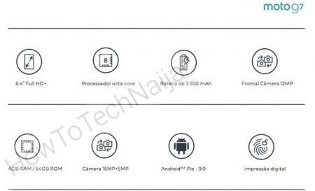 Moto G7 Especificaciones Tecnicas Filtracion