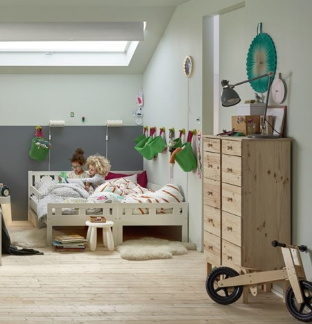 Cat logo ikea 2016 novedades para los dormitorios infantiles - Dormitorios con literas para ninos ...