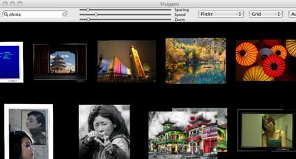 Visigami, un visualizador de imágenes de Google