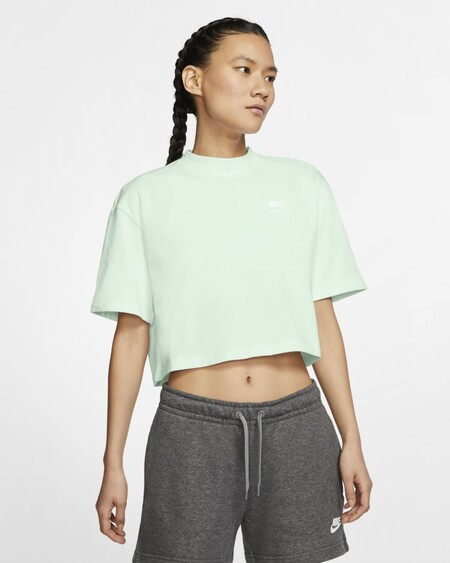 Nike Sportswear Camiseta Verde Menta