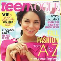 Vanessa Hudgens en la portada de Septiembre de Teen Vogue