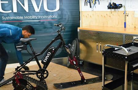 Kit Bicicleta Electrica Nieve