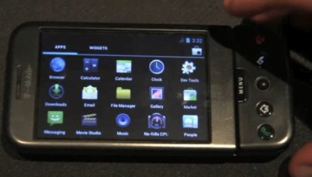 Google Android Ice Cream Sandwich portado a un HTC G1
