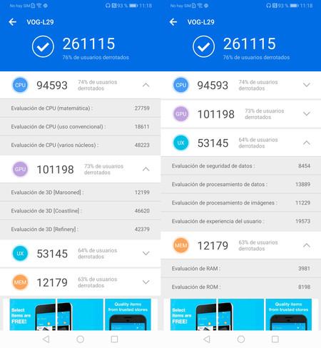 Huawei P30 Pro, benchmarks