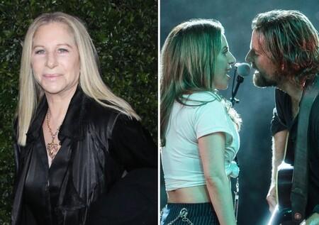 """""""Ha nacido una estrella fue una mala idea"""". Barbra Streisand critica la falta de originalidad de la película de Bradley Cooper y Lady Gaga, y revela qué otra pareja le gustaba más"""