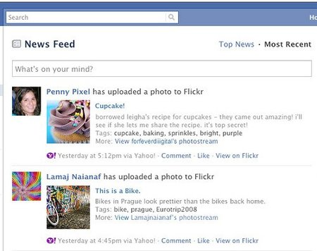 flickr se integra en facebook de forma oficial