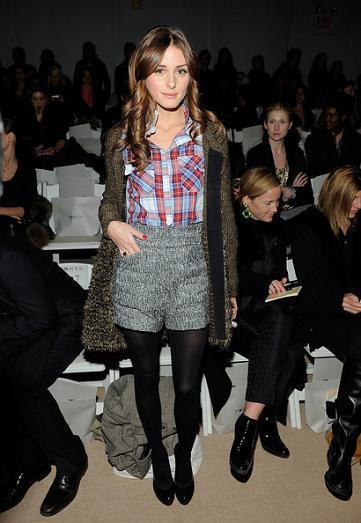 Los looks de Olivia Palermo y Whitney Port en la Semana de la Moda de Nueva York, día 1