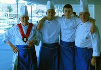Representantes de la Federación Italiana de Cocina en Barcelona Degusta 2007