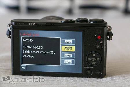 Lumix GM1 pantalla video