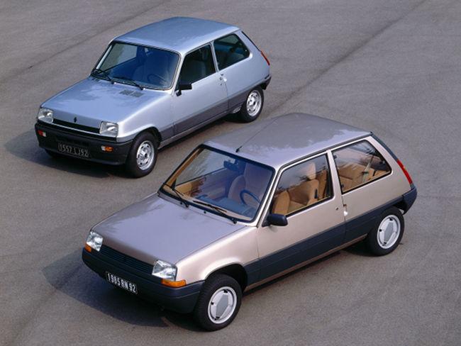 Renault 5, evolución