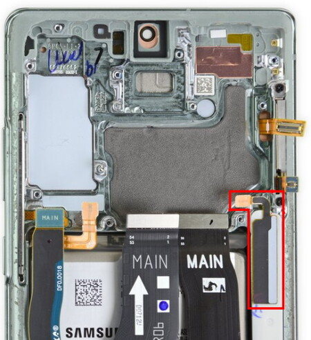 Galaxy Note 20 Ultra Detector S Pen Ifixit